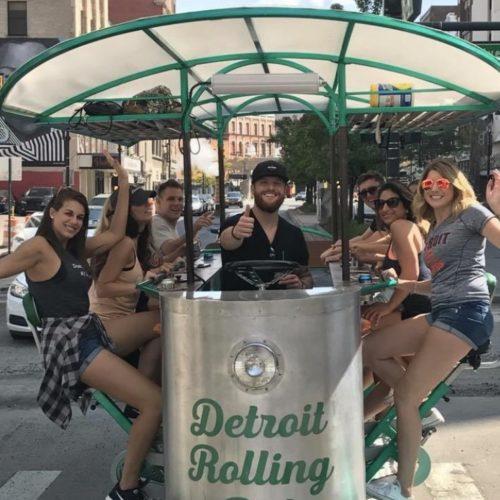 Detroit Pedal Pub Tours