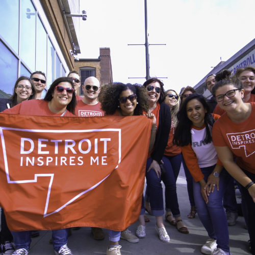 Detroit Inspires Me - Corporate Outting