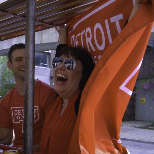 Detroit Cycle Pub fun!