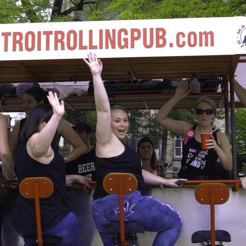 Detroit Cycle Pub Wave!