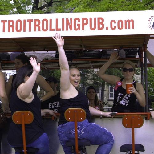 Detroit Cycle Pub Wave!