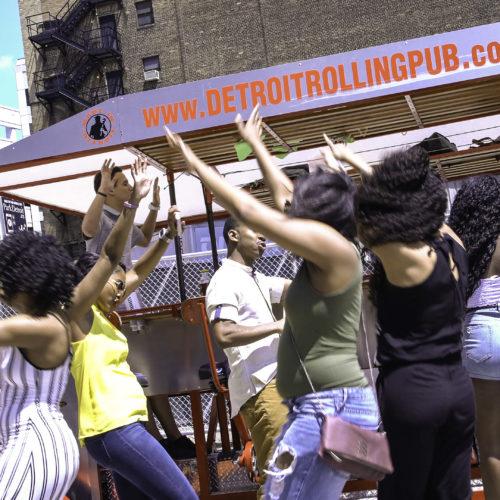 Detroit Cycle Bar Dance Party