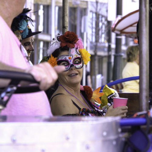 Detroit Pedal Bar tours are the best way to celebrate Halloween!