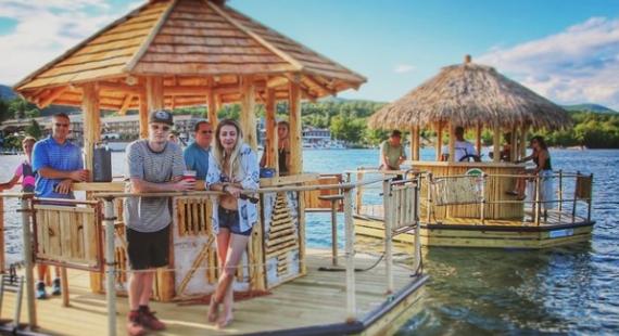 Detroit Tiki Boats & St. Clair Shores Tiki Boats