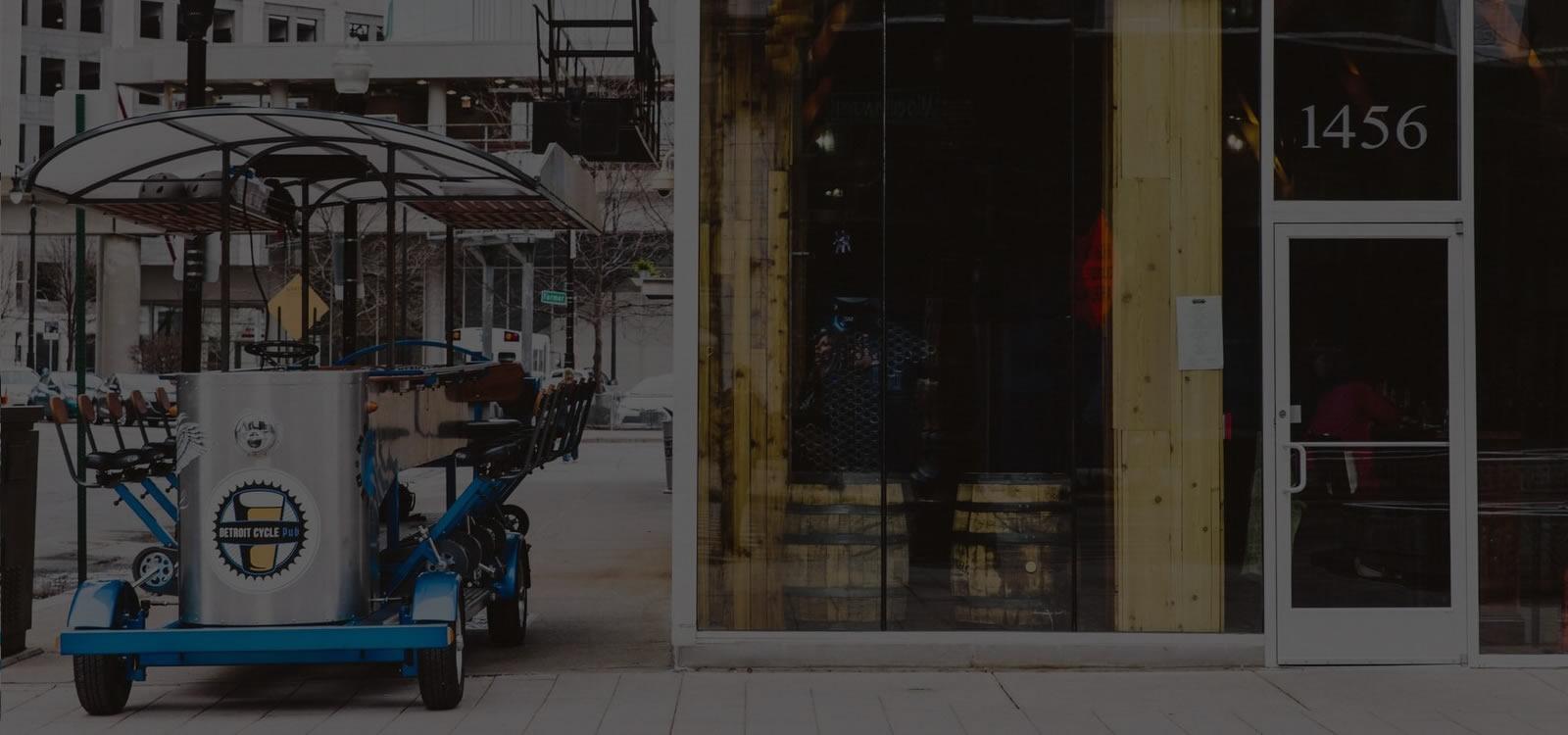 Handlebar Detroit, Pedal Bar, Cycle Pub